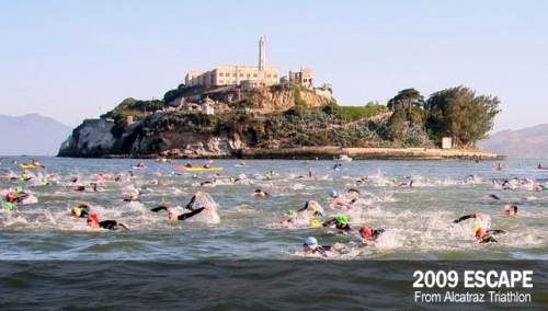Escape from Alcatraz Triathlon 2009