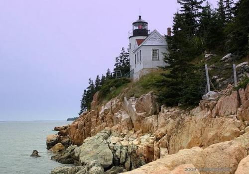 Lighting the way --Bass Harbor Light