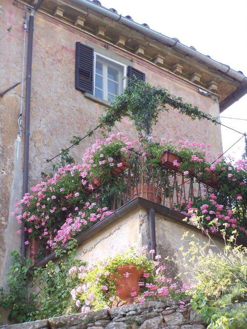 Bramisole Balcony--Cortona, Italy