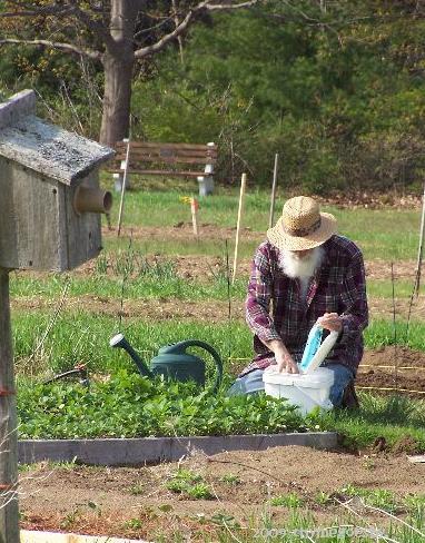 Master gardener.. Tony
