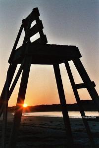Goose Rocks beach sunrise