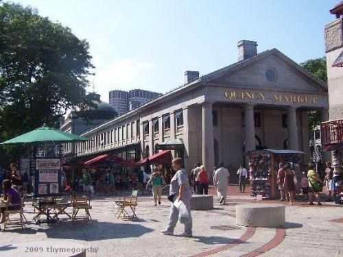 Quincy Marketplace in Fanueil Hall