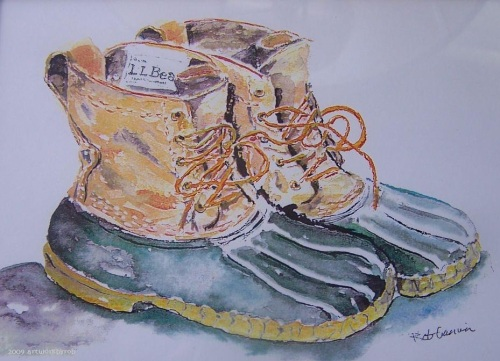 Bean Boots -- The Sole of Maine